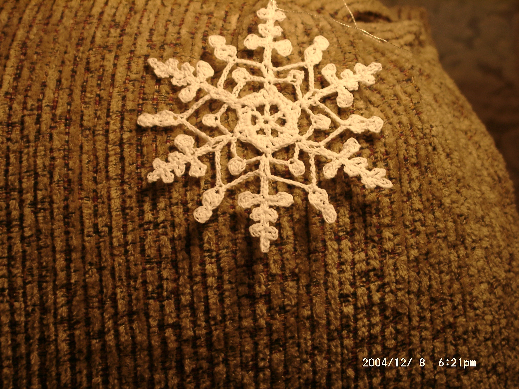 CROCHETED SNOWFLAKE ORNAMENTS | How To Crochet